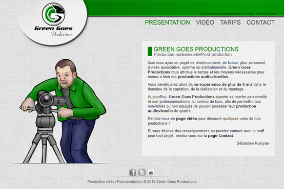 Green Goes Production